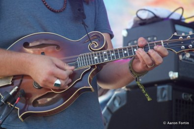 Paul Hoffman's Guitar, Greensky Bluegrass at Big Meadow, HSMF 2012