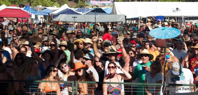 The Crowd takes in Greensky Bluegrass at Big Meadow, HSMF
