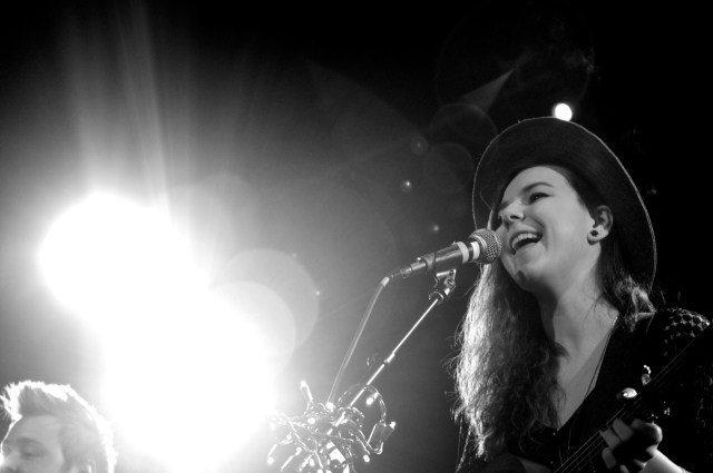 Nana from the band of monsters of men (photo by Eric Tsurumoto)