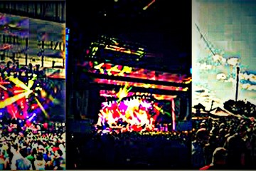 Phish Cincy COllage