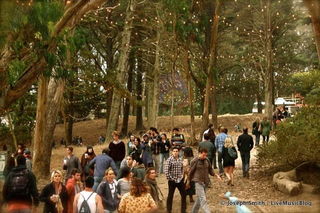 Choco Lands @ Outside Lands 2012 || Photo © Joseph Smith