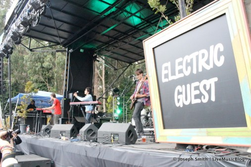 Electric Guest @ Outside Lands 2012 || Photo © Joseph Smith