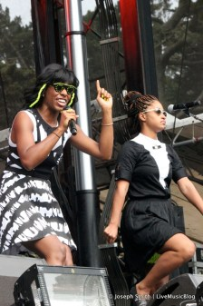 Santigold @ Outside Lands 2012 || Photo © Joseph Smith