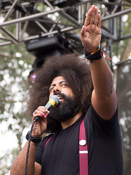 Reggie Watts @ Outside Lands 2012 || Photo by Jimmy Grotting