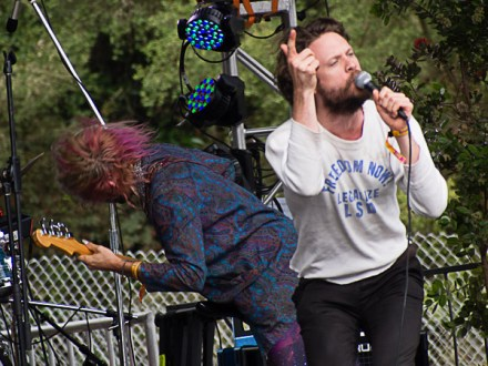 Josh Tillman of @ Outside Lands 2012 || Photo by Jimmy Grotting