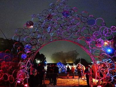 Decorative Arch @ Outside Lands 2012 || Photo © Wesley Hodges