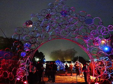 Decorative Arch @ Outside Lands 2012 || Photo © Wesley Hodges
