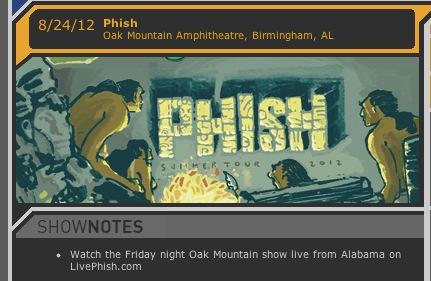 phish live webcast