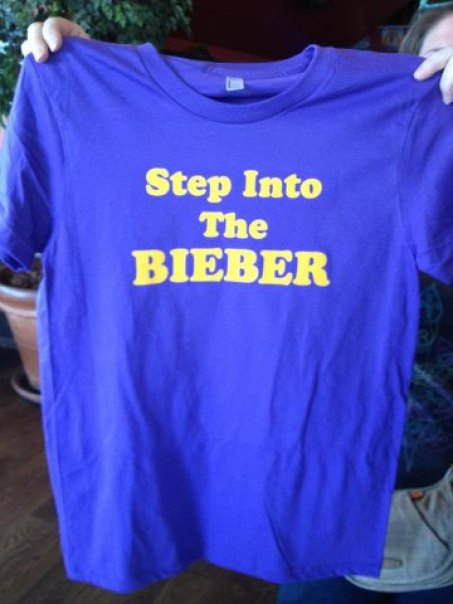 step into the bieber