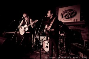 with John Stirratt and Patrick Sansone of Wilco