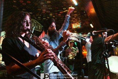 Red Baraat @ The Mint LA - 10/4/12 || Photo © Jim Brock / http://eyeonthemusic.com