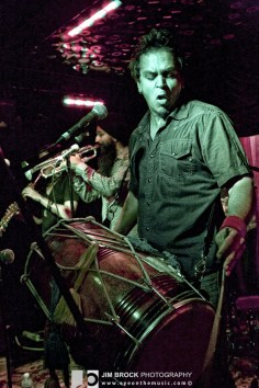 Red Baraat @ The Mint LA - 10/4/12 || Photo © Jim Brock / http://eyeonthemusic.com