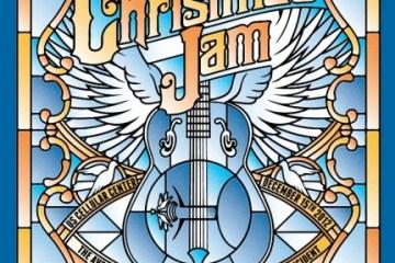 24th Annual Warren Haynes Christmas Jam Poster.  Tip from @HiddenTrack