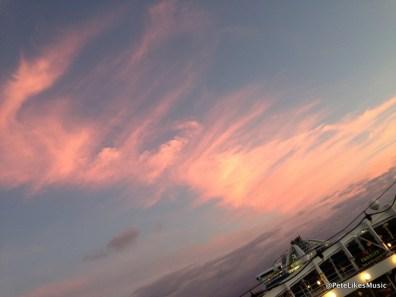 15-15 sunrise on last night