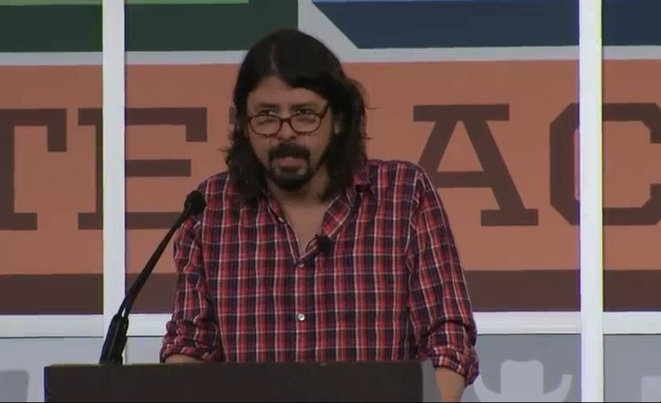 grohl keynote speech