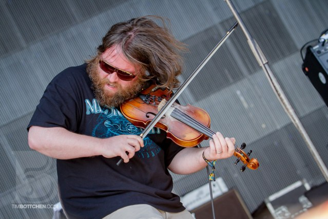 Ryan Young of Trampled By Turtles