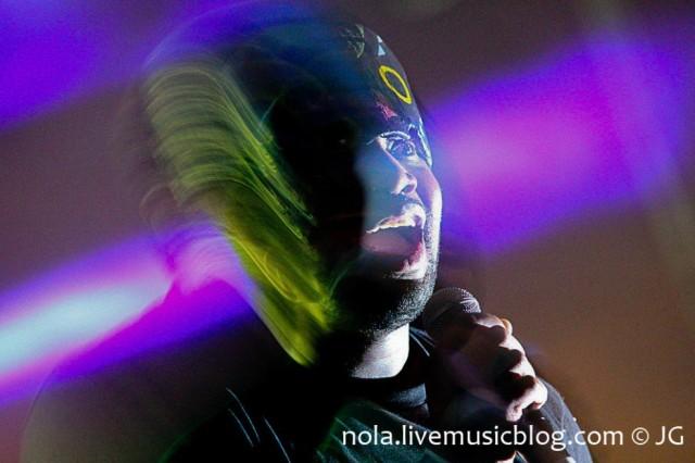 SBTRKT @ BUKU 2012 | Photo by Jimmy Grotting