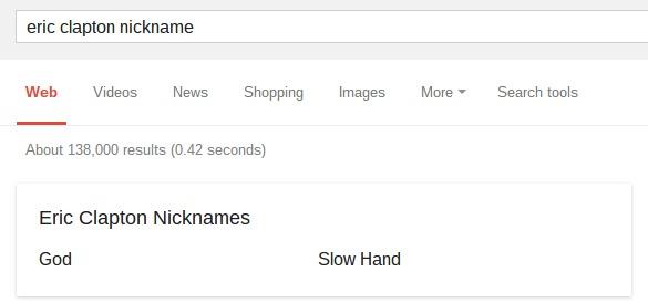 eric clapton nickname   Google Search