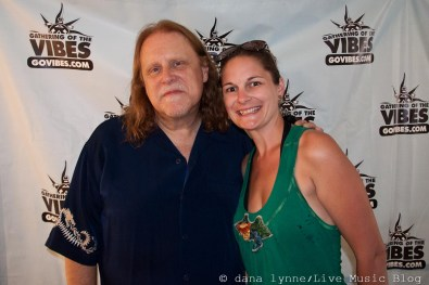 Warren Haynes and me!!!