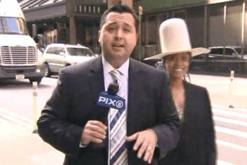 WATCH  Erykah Badu crashes live TV news report   LIVE music blog