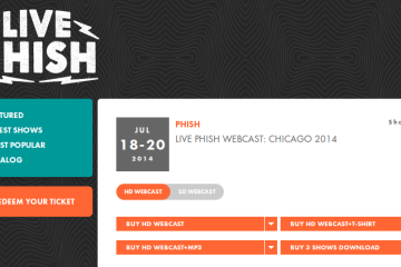 LivePhish.com   Live Phish Webcast  Chicago 07 18 20 2014