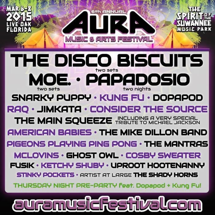 aura lineup