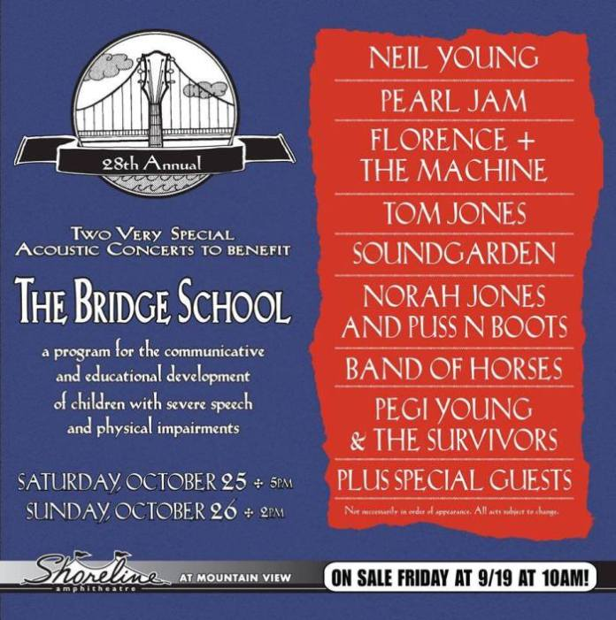 bridge school 2014 lineup