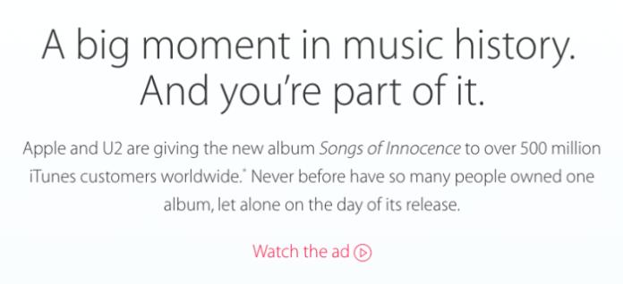 music history apple u2