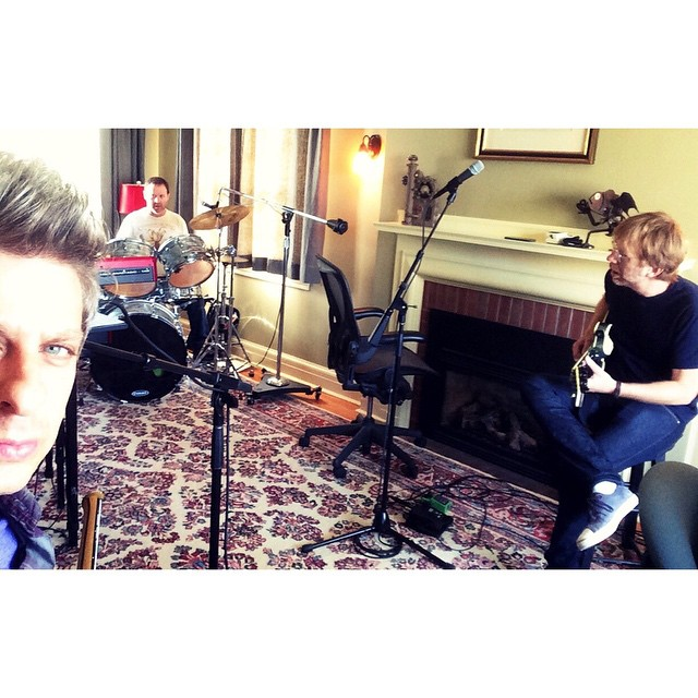 2014 Rehearsals, Instagram by Mike Gordon