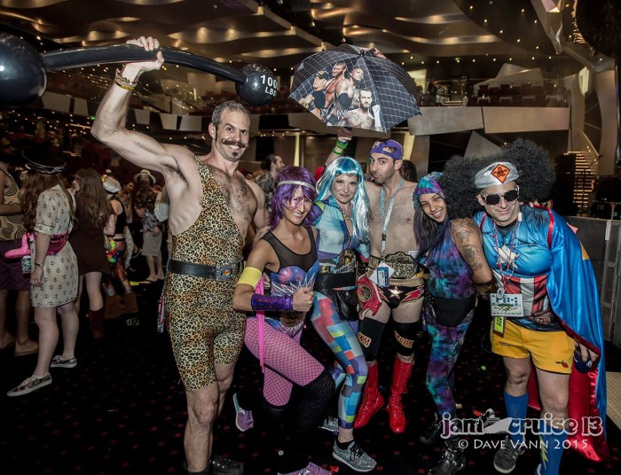 Costumes on Jam Cruise 13 / Photo by Dave Vann