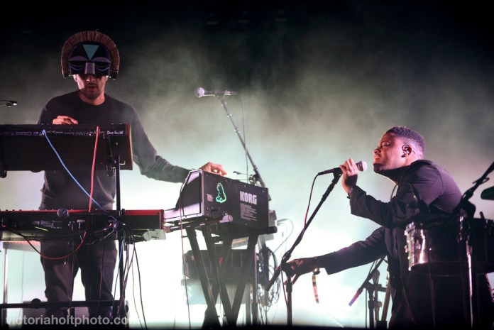 SBTRKT performs on the Bigfoot Stage on May 24th, 2015.