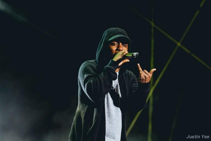 Kendrick Lamar @ OSL 2015 © Justin Yee