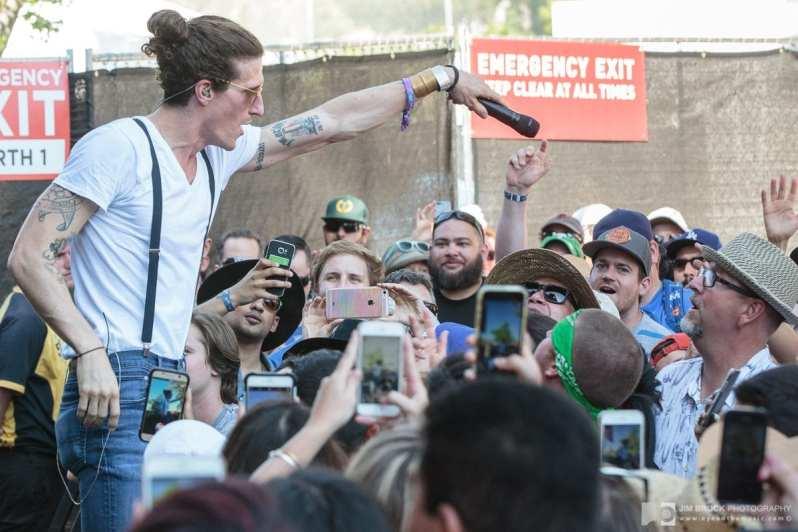 The Revivalists @ Arroyo Seco Weekend 6.25.17 © Jim Brock/LIVE music blog