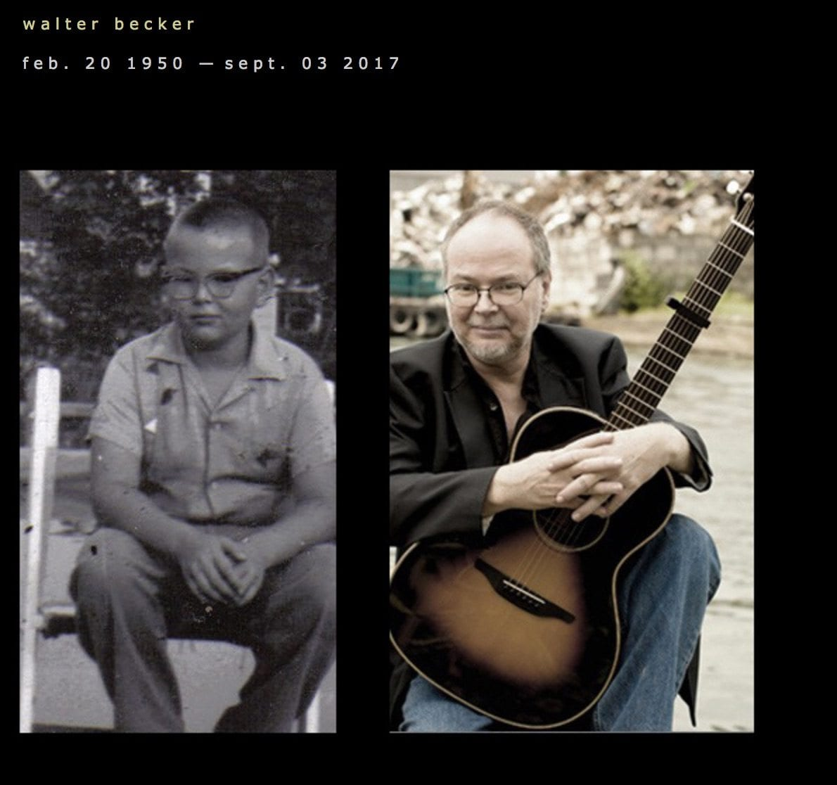 Steely Dan's Walter Becker Passes Away at 67