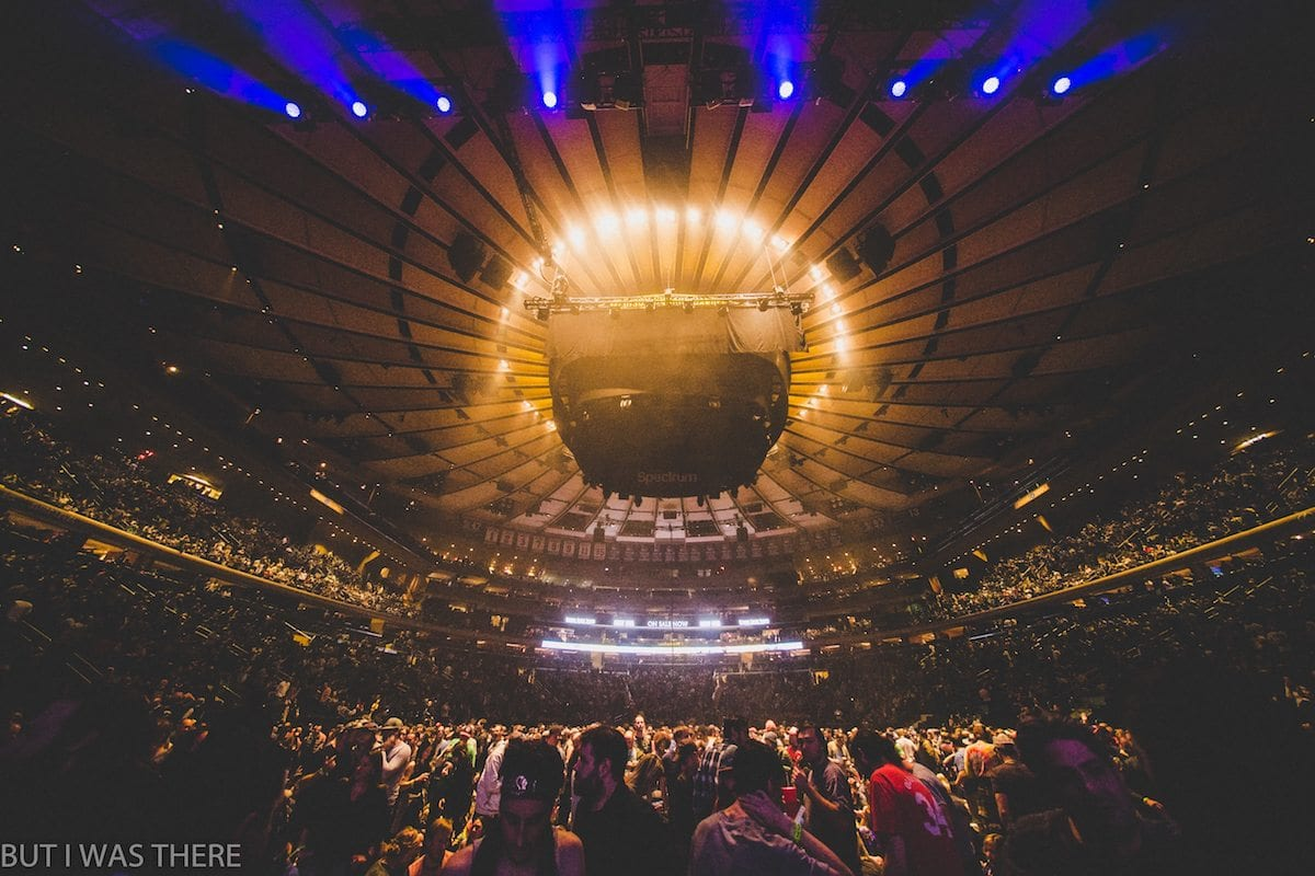 Photo Recap Phish Madison Square Garden Nyc Live Music Blog