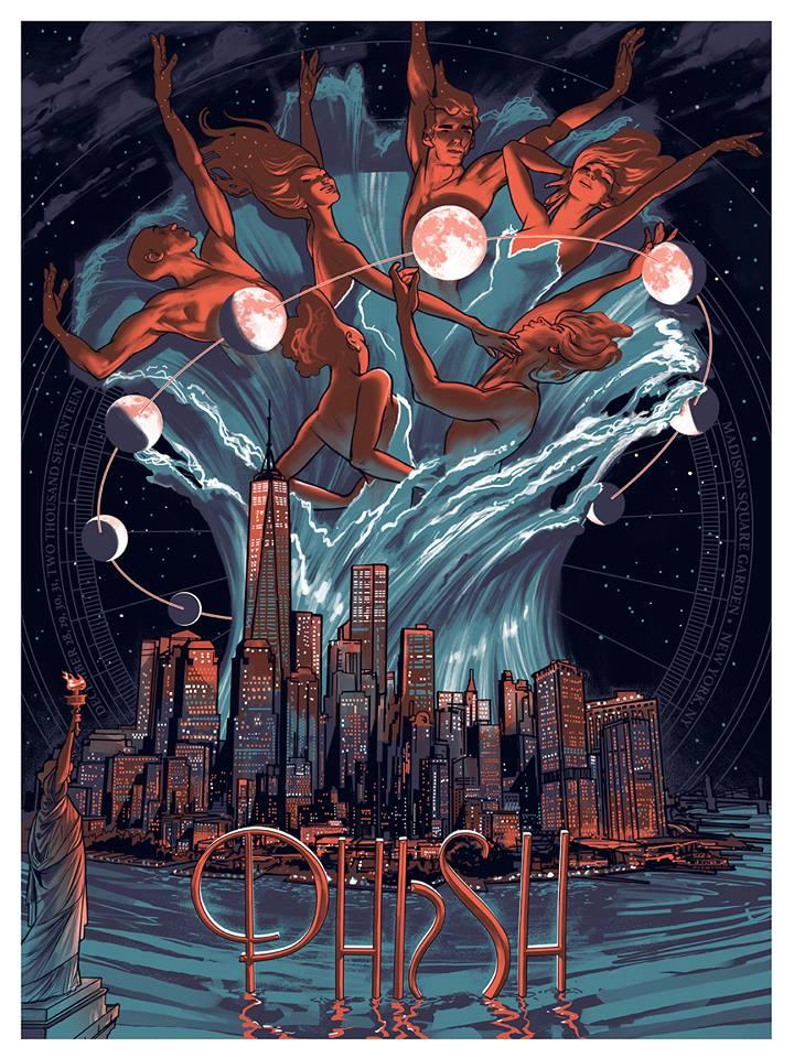 SETLIST TWEETS Phish Madison Square Garden NYC 123017 Night Three LIVE Music Blog