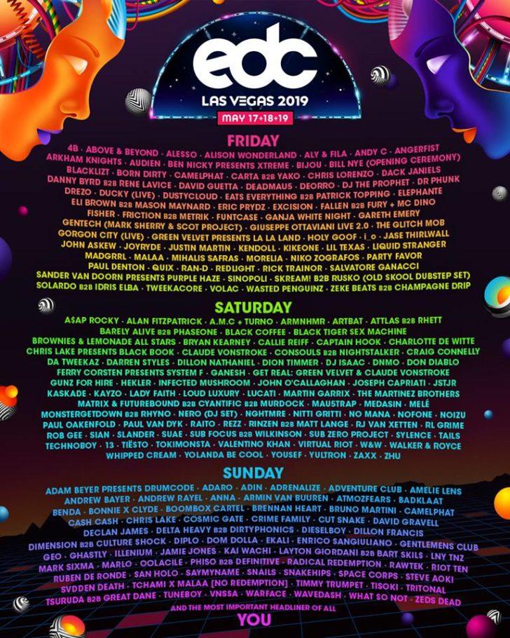edc-las-vegas-2019-reveals-official-full-lineup