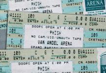 phish releases 11-11-98 on grand rapids mi on livephish
