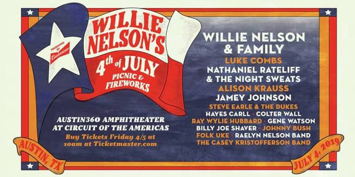 willie-nelson-s-4th-of-july-picnic-announced-willie-nelson-amp-family-luke-combs-nathaniel-rateliff-alison-krauss-amp-more