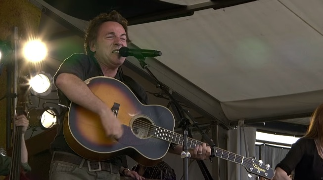 watch bruce springsteen jazz fest 2006 katrina seeger sessions band new orleans