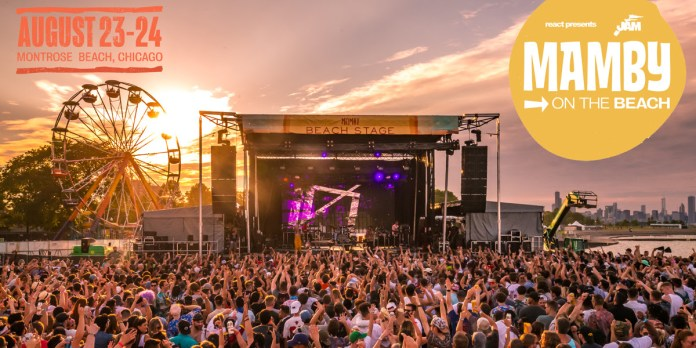 mamby on the beach 2019 festival lineup chicago live music blog header