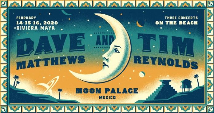 dave matthews tim reynolds riviera maya moon palace mexico february 14-16 2020