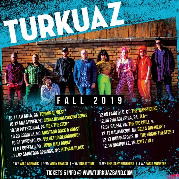 turkuaz fall 2019 tour dates