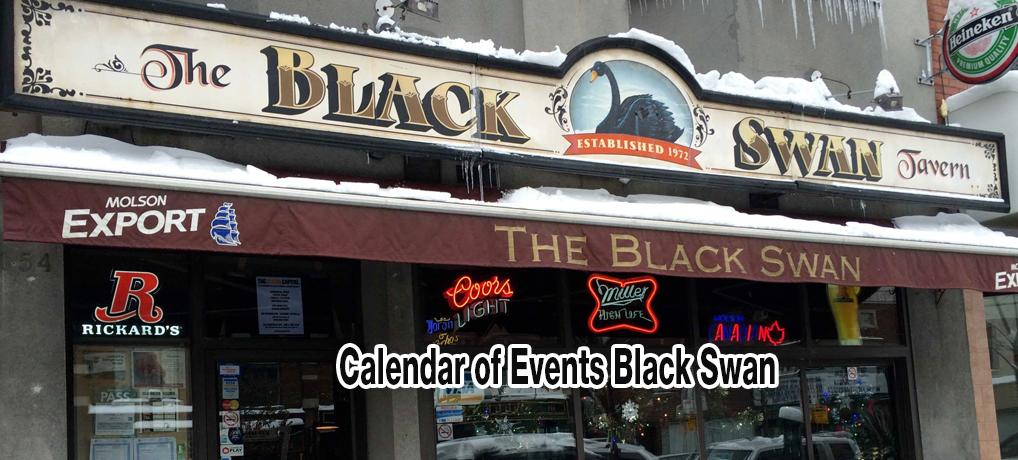 Calendar of Events Black Swan
