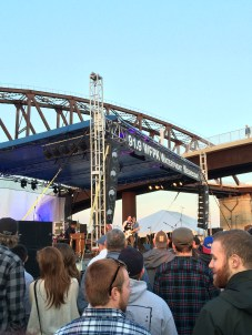 JD McPherson at WFPK's April 15 Waterfront Wednesday