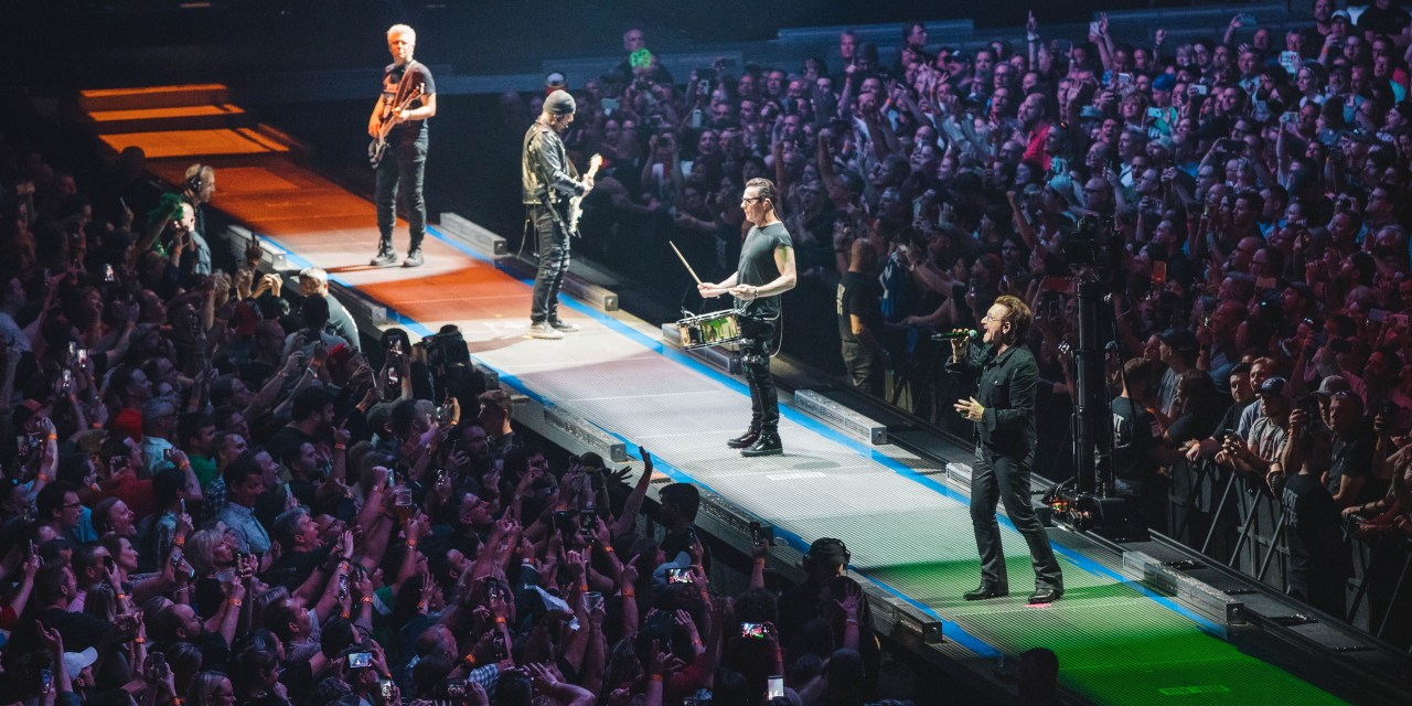 U2 – additional Manchester and London dates for their eXPERIENCE + iNNOCENCE tour
