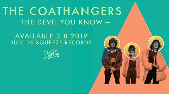 The Coathangers New Album and UK Tour (including Liverpool + Manchester)