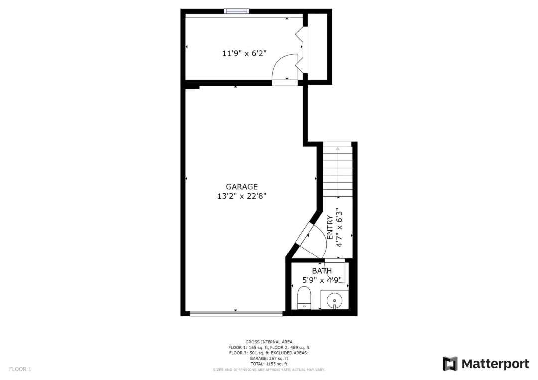 Silver street Floor plan