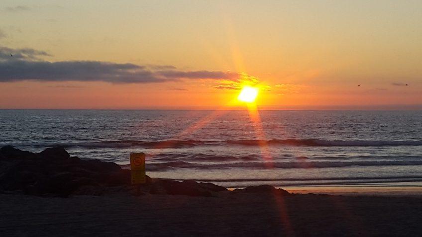 Imperial Beach California Sunset