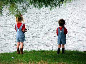 Kids Fishing Camp